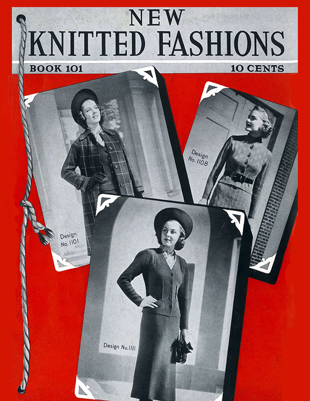 New Knitted Fashions | Book No. 101 | The Spool Cotton Company