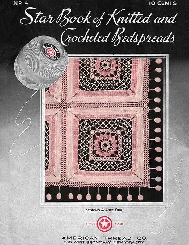Star Book of Knitted and Crocheted Bedspreads | Book 4 | American Thread Company