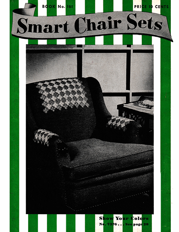 Smart Chair Sets | Book No. 161 | The Spool Cotton Company