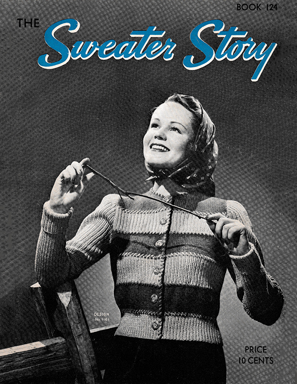 The Sweater Story | Book No. 124 | The Spool Cotton Company
