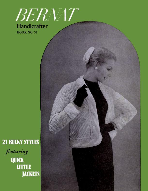 21 Bulky Styles | Bernat Handicrafter | Book No. 51