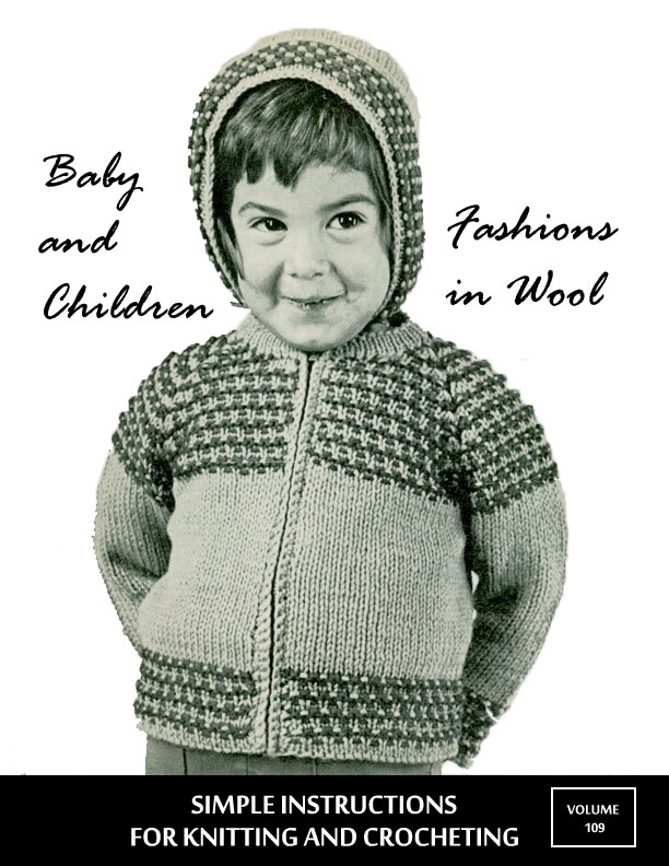 Baby and Children | Fashions in Wool | Styled by Hilde Volume No. 109