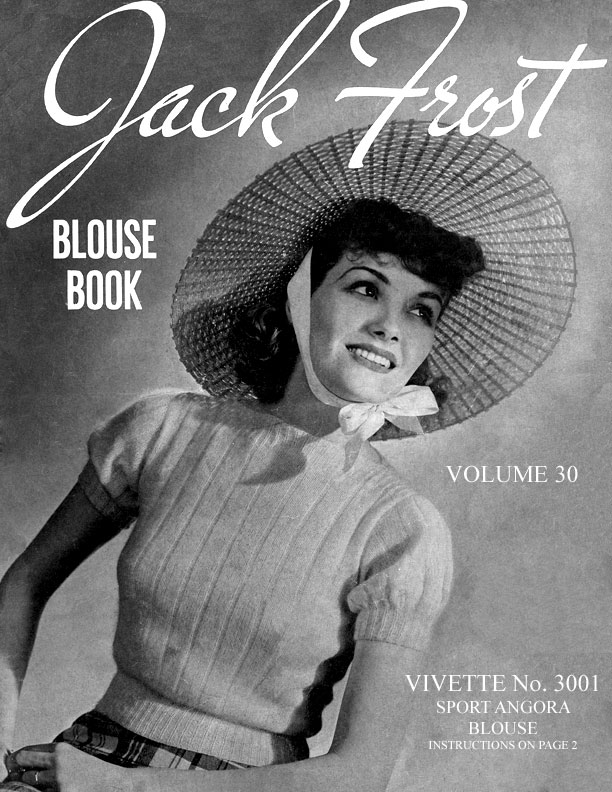 Blouse Book  | Volume 30 | Jack Frost