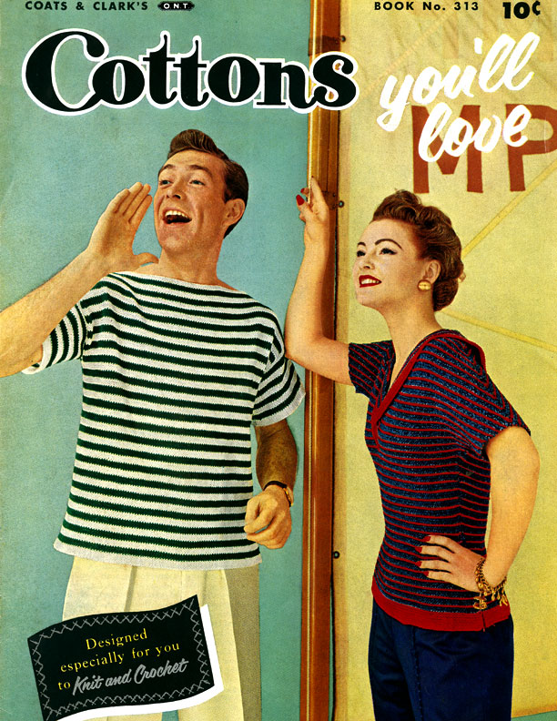 Cottons You'll Love | J. & P. Coats - Clark's O.N.T. Book No. 313