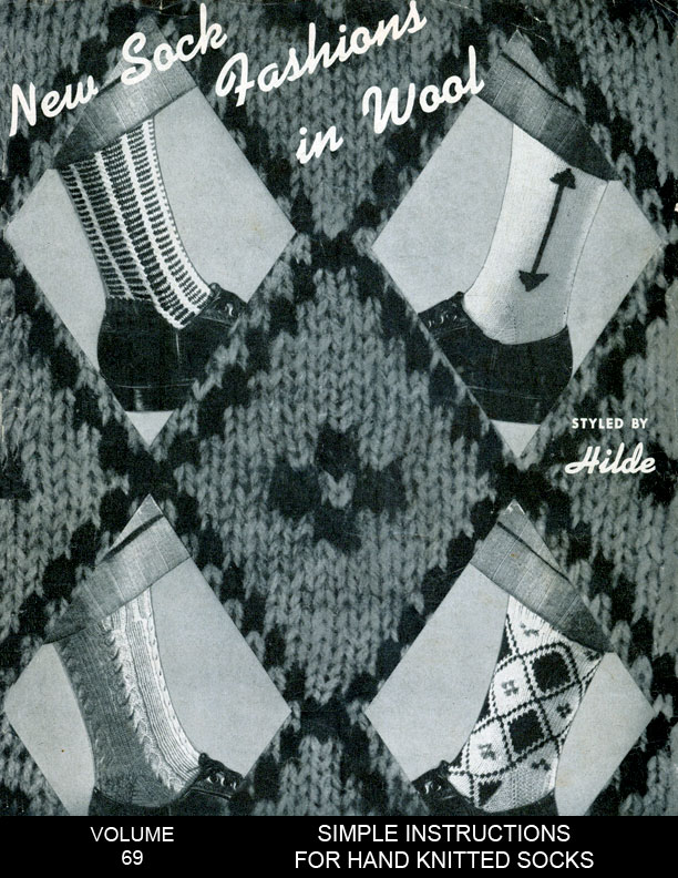 New Socks | Fashions in Wool | Styled by Hilde Volume No. 69