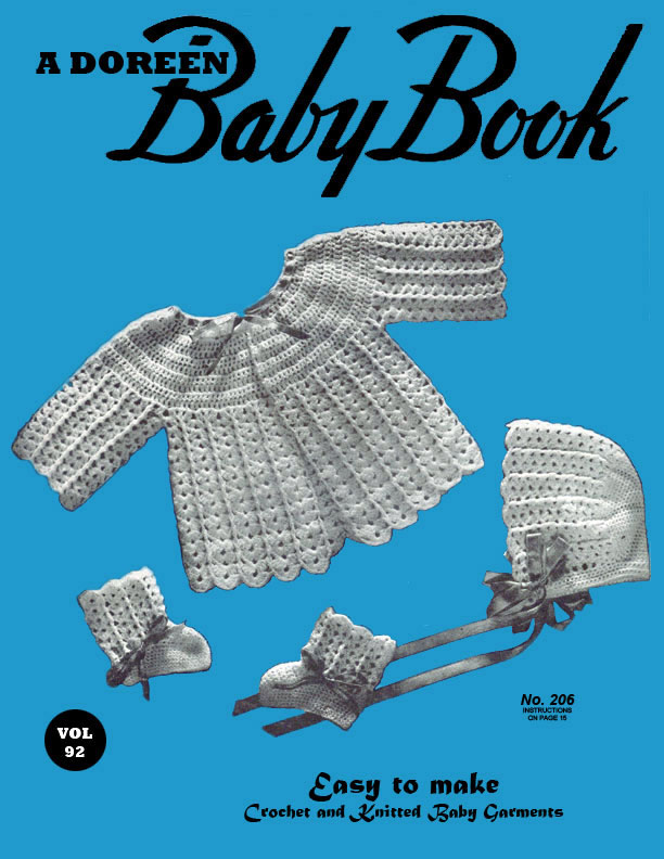 Baby Book | Volume 92 | Doreen Knitting Books
