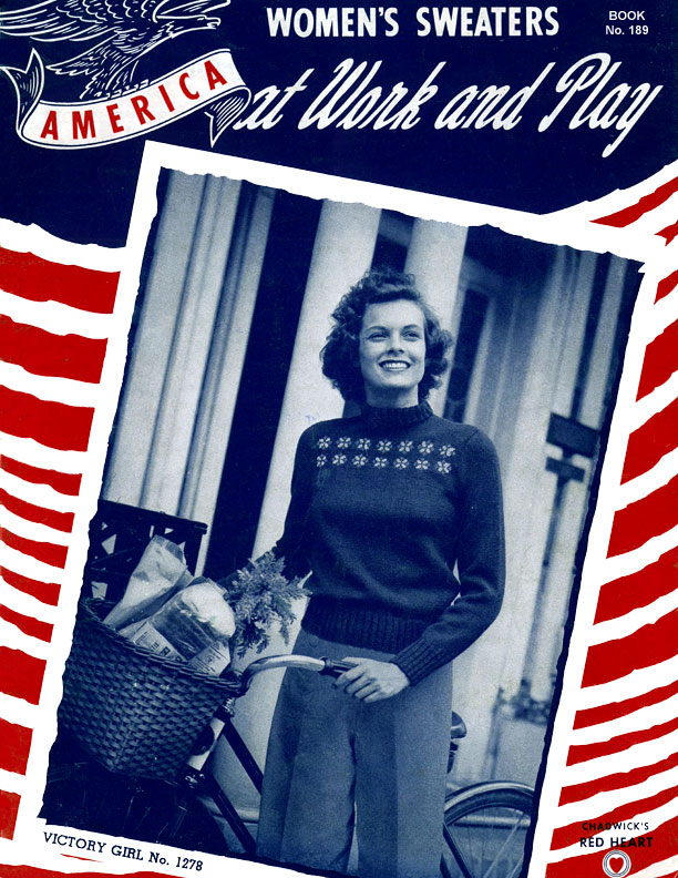 America at Work and Play | Spool Cotton Company Book No. 189