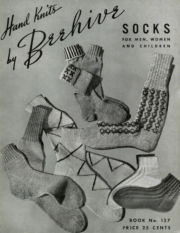 Hand Knits by Beehive | Socks | Patons & Baldwins Book No. 127