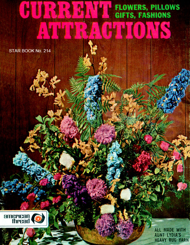 Current Attractions | Flowers, Pillows, Gifts, Fashions | Star Book No. 214
