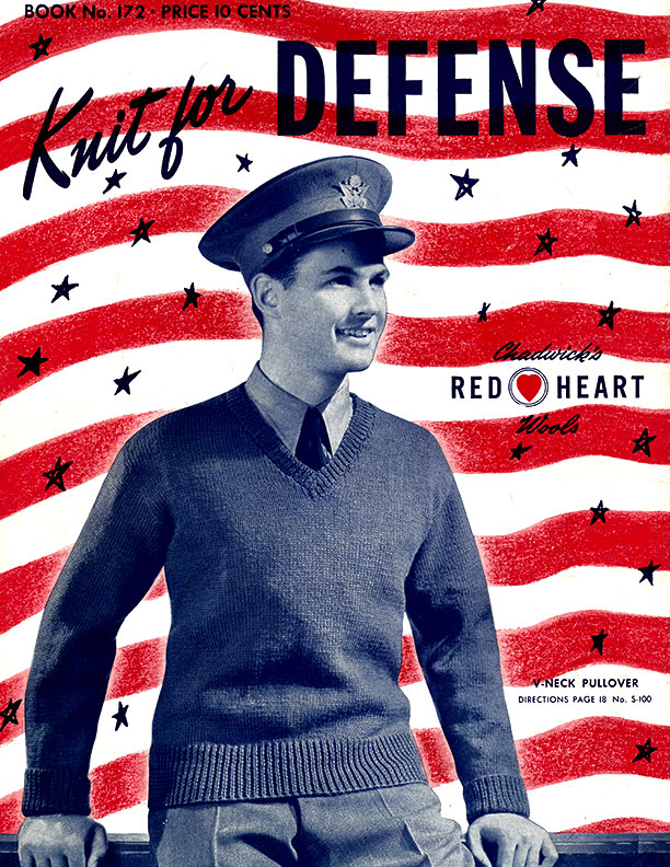 Knit For Defense | Spool Cotton Company Book No. 172