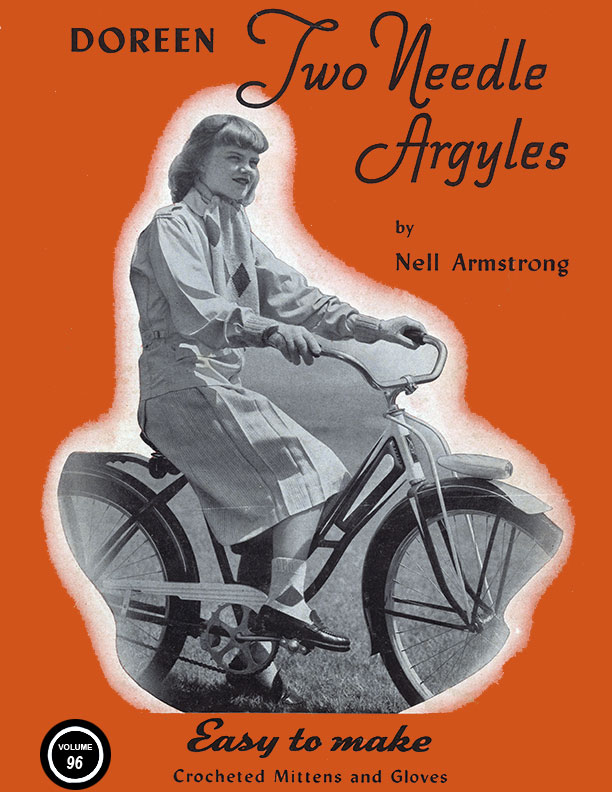 Two Needle Argyles | Volume 96 | Doreen Knitting Books