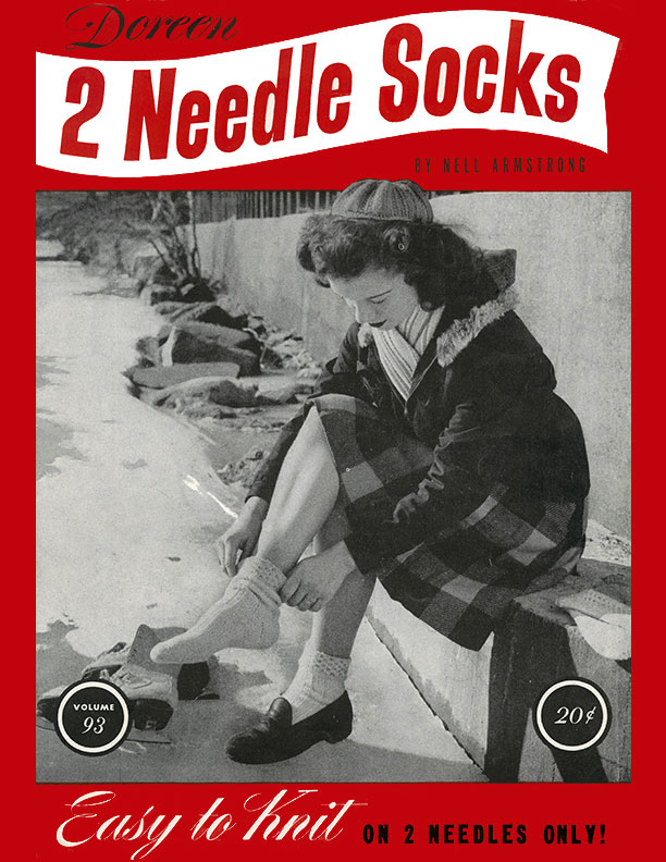 Two Needle Socks | Volume 93 | Doreen Knitting Books