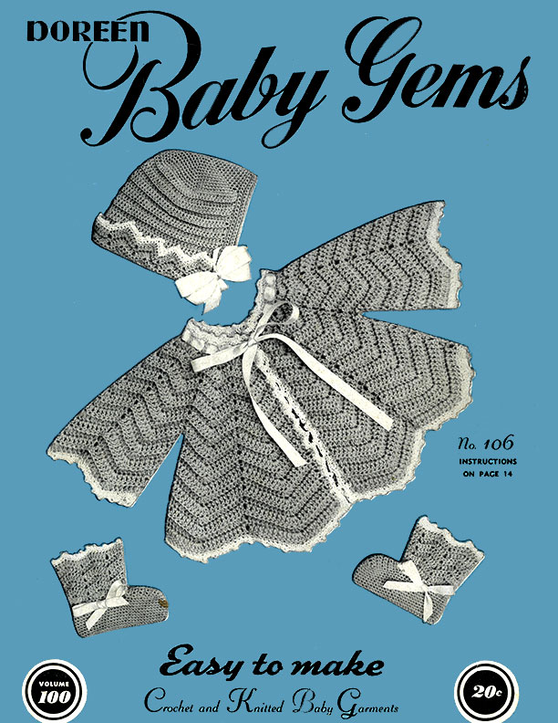 Baby Gems | Volume 100 | Doreen Knitting Books