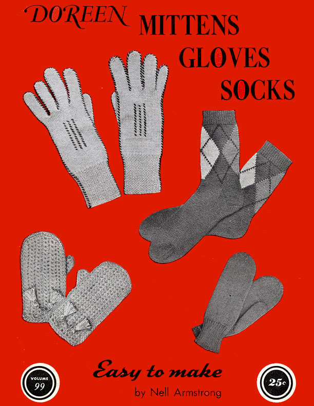 Mittens Gloves Socks | Volume 99 | Doreen Knitting Books