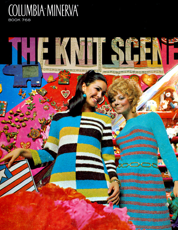 The Knit Scene | Columbia Minerva Book 768